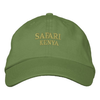 Safari Kenya Embroidered Baseball Hat