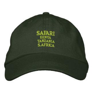 Safari: Kenya, Tanzania, S.Africa Embroidered Baseball Cap