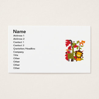 Safari Life Business Card