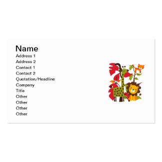 Safari Life Business Card Template