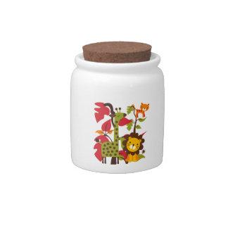 Safari Life Candy Jar