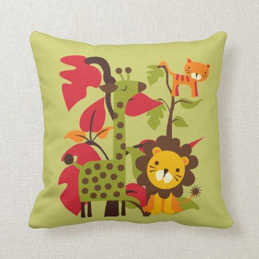 Safari Life Pillow