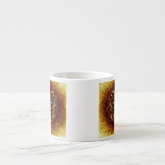 Safari Lion Espresso Cup