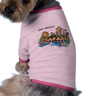 Safari Niagara doggy shirt Pet T Shirt