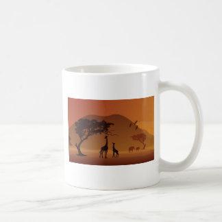 Safari park coffee mug
