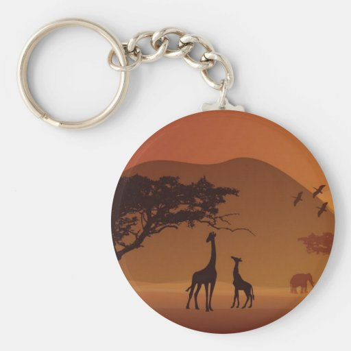 Safari park keychain