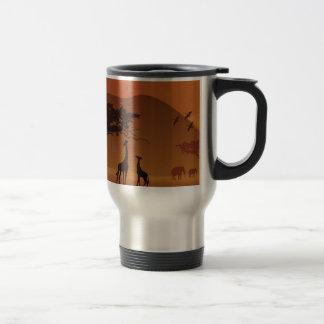 Safari park travel mug