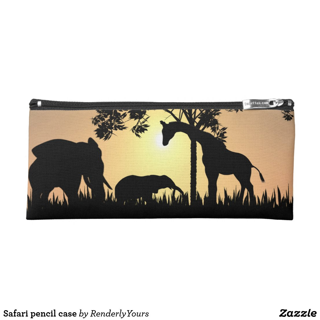 Safari pencil case