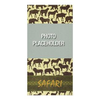Safari Photocard Template