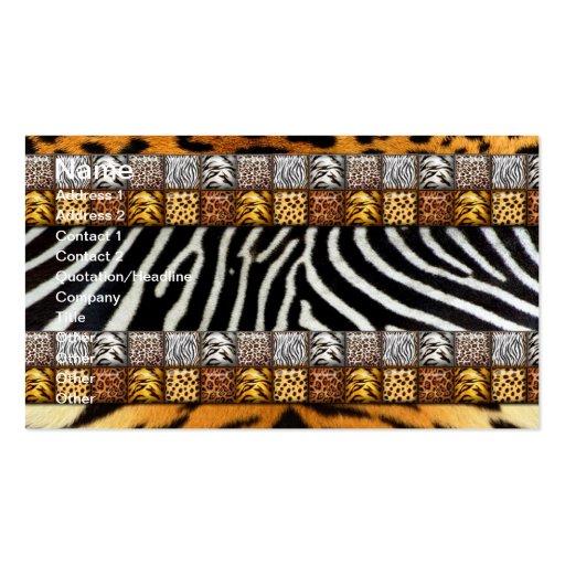 Safari Prints Business Card Templates