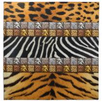 Safari Prints Cloth Napkin