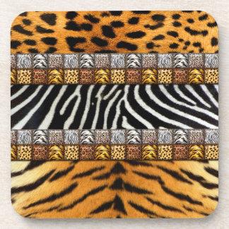 Safari Prints Drink Coaster