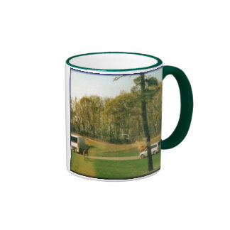 Safari Reflections Ringer Coffee Mug