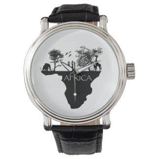 safari reloj de mano