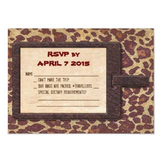 Safari RSVP Card