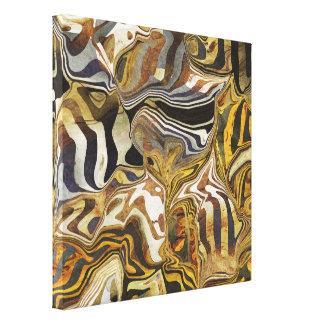 Safari salvaje lienzo envuelto para galerias