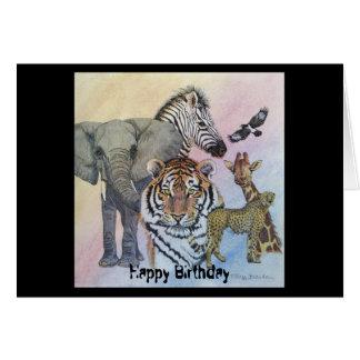 Safari Sampler Greeting Card