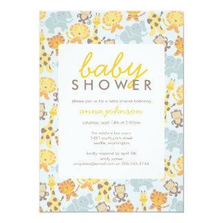 Safari Shower Invitation