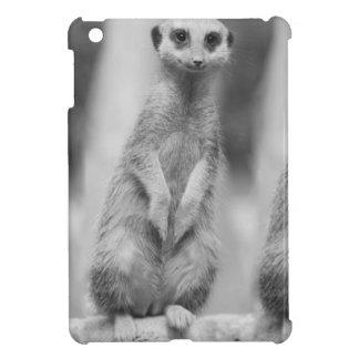 Safari Suricate con clase africano lindo Meerkat iPad Mini Funda