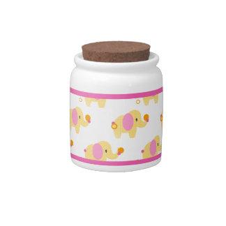 Safari Sweetness Elephant Candy Jar