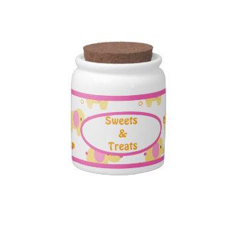 Safari Sweetness Elephant Candy Jar 2