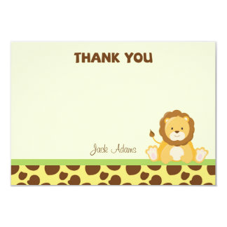 Safari Thank You Card