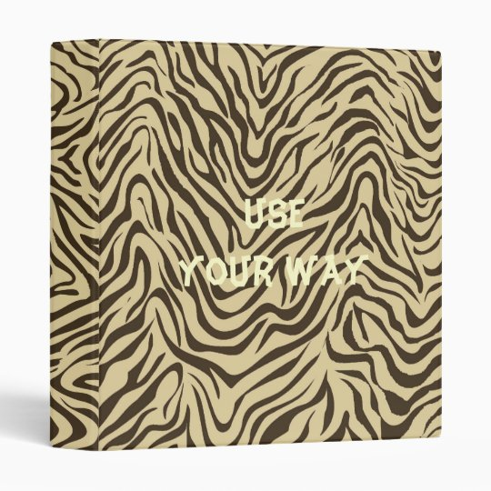 Safari Theme USE YOUR WAY! Avery Binder