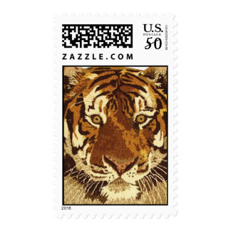 Safari Tiger Postage