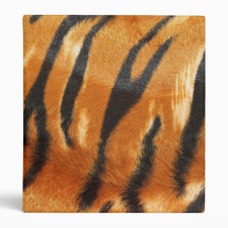 Safari Tiger Stripes Print 3 Ring Binder