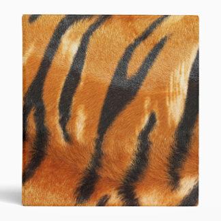 Safari Tiger Stripes Print Binder