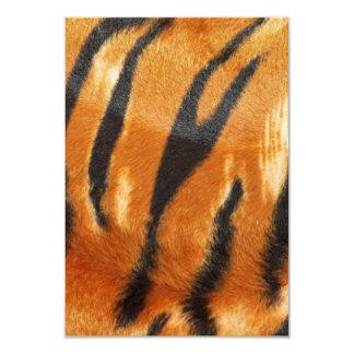 Safari Tiger Stripes Print Card