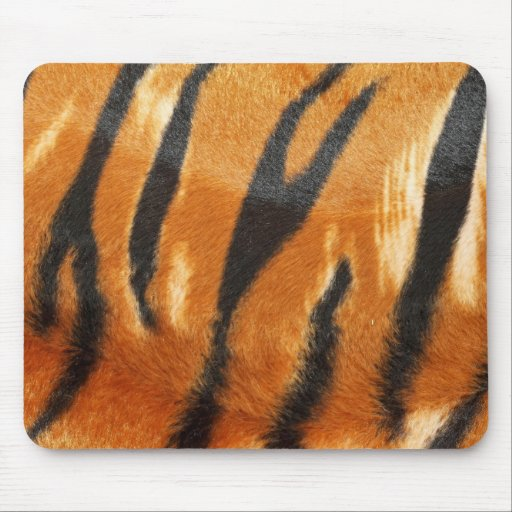 Safari Tiger Stripes Print Mousepads