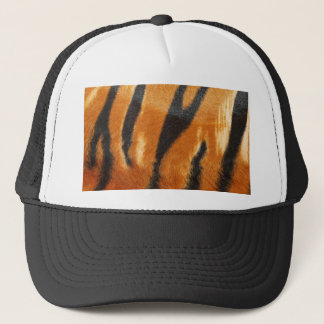 Safari Tiger Stripes Print Trucker Hat