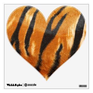 Safari Tiger Stripes Print Room Stickers