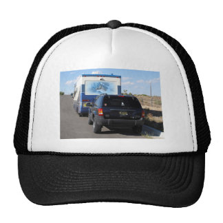 Safari Trek 1999 Blue Classic RV Motorhome Jeep Trucker Hat