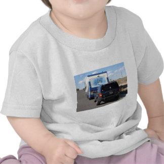 Safari Trek 1999 Blue Classic RV Motorhome Jeep T Shirt