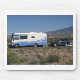 Safari Trek 1999 Blue Classic RV Motorhome Mouse Pad