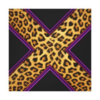 Safari X Impresión En Lienzo Estirada