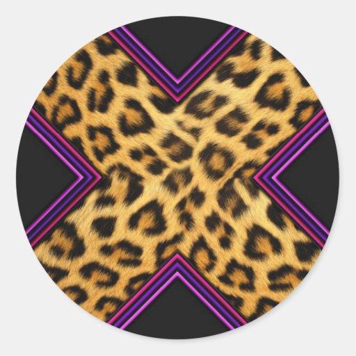 Safari X Etiquetas Redondas