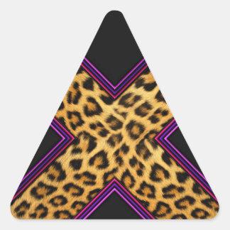 Safari X Pegatina Triangular