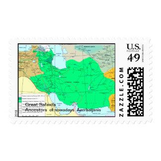 Safavits/Azerbaijan Postage Stamp