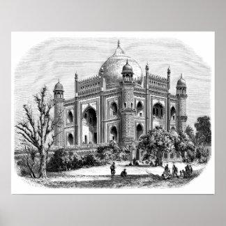 Safdarjung's Tomb Print