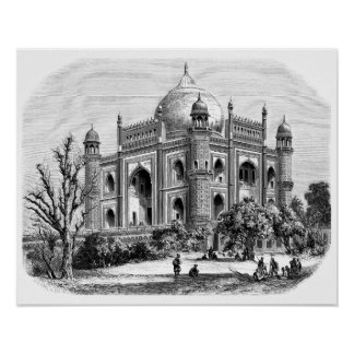Safdarjung's Tomb Poster