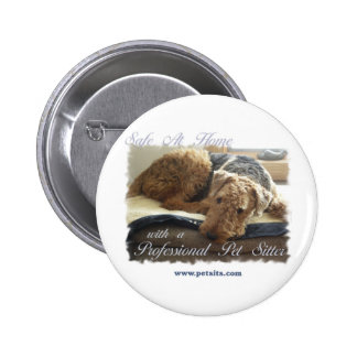 Safe At Home with a Professional Pet Sitter Button