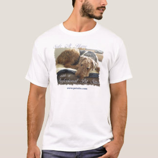 Safe At Home with a Professional Pet Sitter T-Shirt
