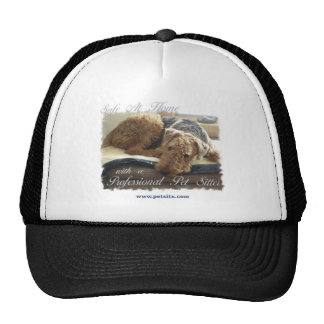 Safe At Home with a Professional Pet Sitter Trucker Hat