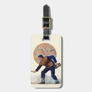 Safe at the Plate Luggage Tags