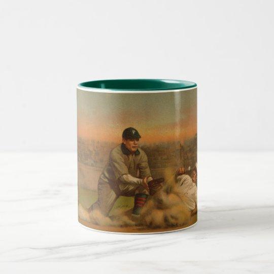 Safe At Third Two-Tone Coffee Mug