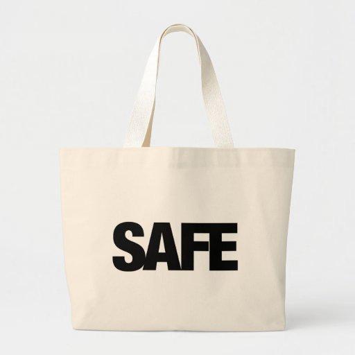 Safe Canvas Bags