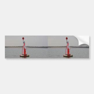 Safe Channel Bouy River Crouch Car Bumper Sticker